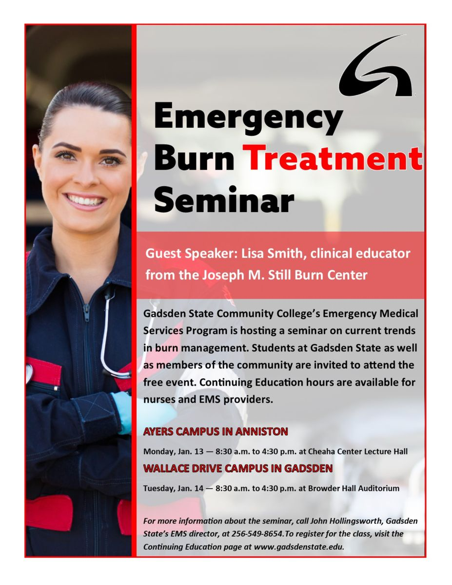 Burn Treatment Seminar